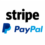 Pagamenti sicuri con Stipe e Paypal
