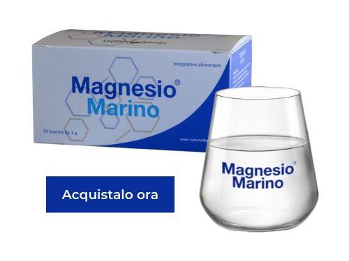 Confezione di Magnesio Marino® e bicchiere brandizzato