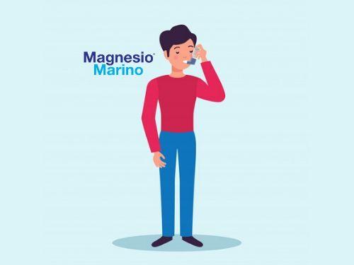 Illustrazione di una persona che soffre di asma