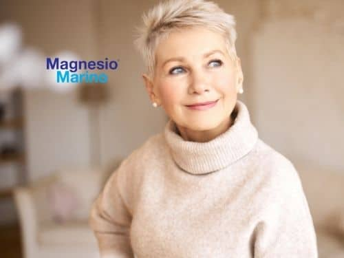 Donna in forma smagliante grazie alla continua assunzione di Cloruro di Magnesio