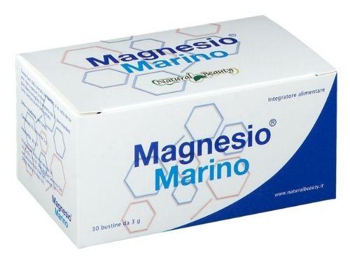 Confezione da 30 bustine di Magnesio Marino